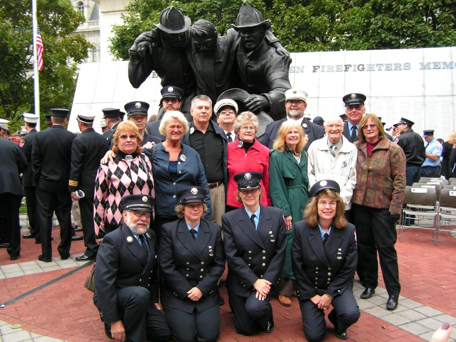 Family of Leroy Schmuck of the Old Forge Fire Department