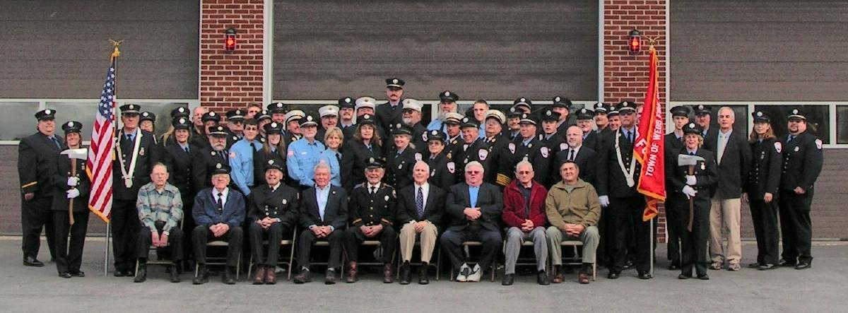 100th Anniversary firemen in 2007