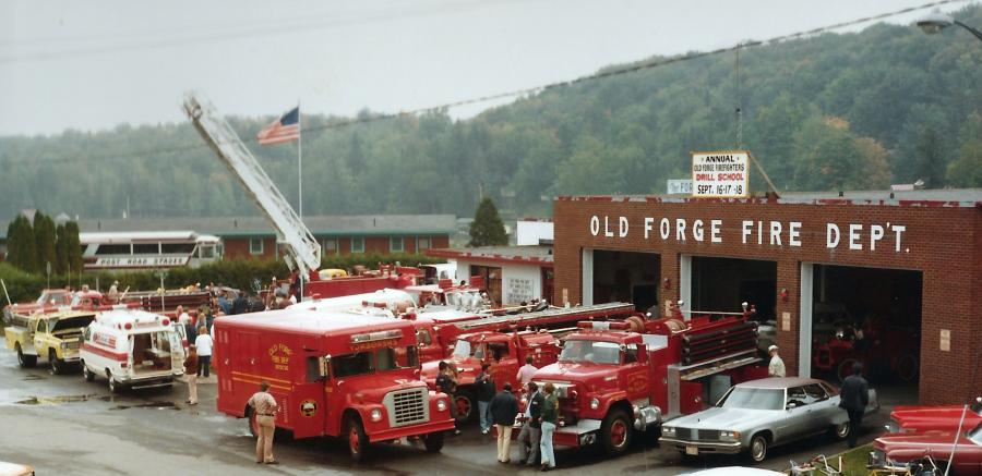 1979 View of the Old Forge Fire Station